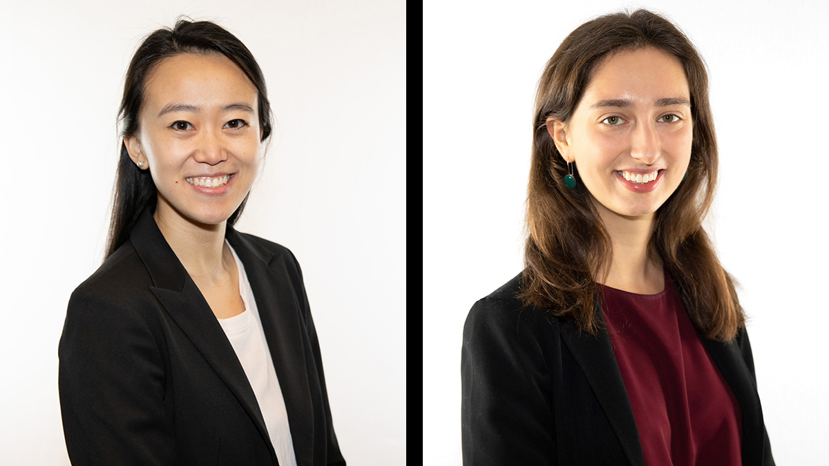 Emily Venturi and Alice Huang