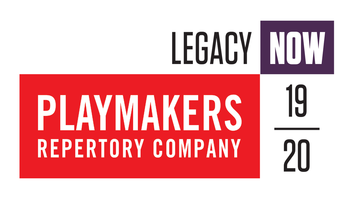 PlayMakers 2019-2020 season announcement logo.